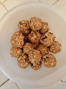 Oatmeal Raisin Power Balls