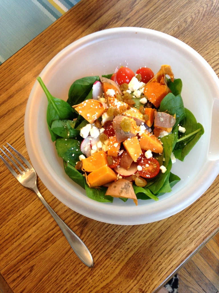 Sweet Potato Summer Salad