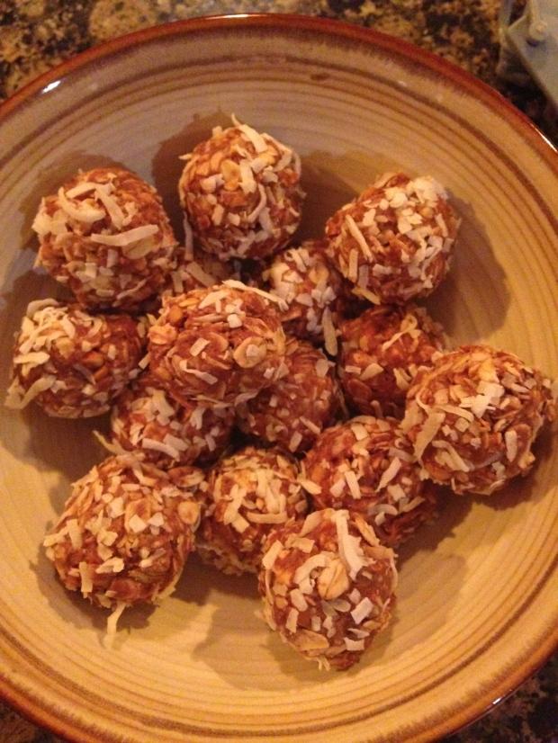 Raw Choco-Nutter Coconut Bites